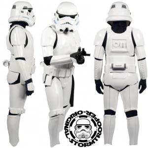 STAR WARS - STORMTROOPER ARMURE COMPLETE OFFICIELLE (CASQUE & ARMURE)