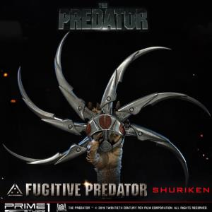 THE PREDATOR (2018) - SHURIKEN FUGITIVE PREDATOR LIMITED EDITION TAILLE 1/1 (BUSTE - SHURIKEN)
