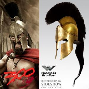 300 - CASQUE OFFICIEL KING LEONIDAS (WINDLASS STUDIOS / SIDESHOW)
