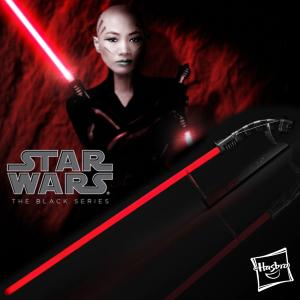 STAR WARS - SABRE LASER ASAJJ VENTRESS FX (HASBRO - THE BLACK SERIES - THE CLONE WARS)