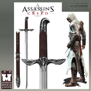 ASSASSIN'S CREED - EPEE ALTAIR OFFICIELLE AVEC FOURREAU CUIR DELUXE (PRACTICAL - WINDLASS STUDIO)