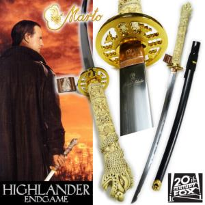 HIGHLANDER ENDGAME - SABRE CONNOR MAC LEOD OFFICIEL MARTO (IMPORT US 20TH CENTURY FOX)