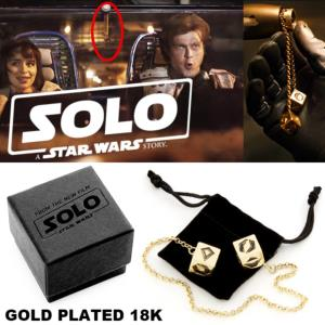 STAR WARS - HAN SOLO : PORTE BONHEUR 2 DES A JOUER SPECIFIQUE OFFICIEL (LUCKY DICE - LUCASFILM LTD)