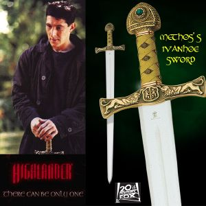 HIGHLANDER (SERIE) - METHOS' S IVANHOE SWORD OFFICIELLE MARTO (IMPORT USA 20TH CENTURY FOX)