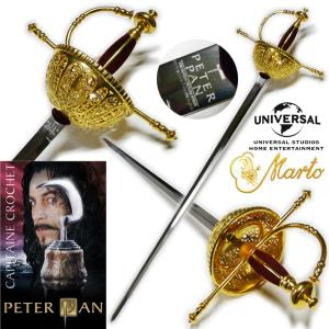 PETER PAN (2003) - CAPTAIN HOOK RAPIER OFFICIELLE LIMITED EDITION MARTO (IMPORT USA UNIVERSAL)