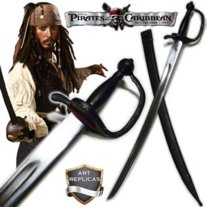 PIRATES DES CARAIBES - REPRODUCTION SABRE JACK SPARROW AFFUTE (PRACTICAL - VERSION ART REPLICAS)