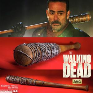 "WALKING DEAD (THE) - BATTE DE BASEBALL ""LUCILLE"" DE NEGAN OFFICIELLE (MC FARLANE PVC)"