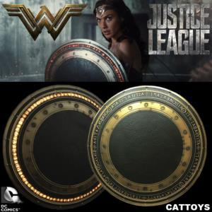 JUSTICE LEAGUE - BOUCLIER WONDER WOMAN OFFICIEL PROP REPLICA AVEC ECLAIRAGE LEDS (DC MOTION PICTURE)