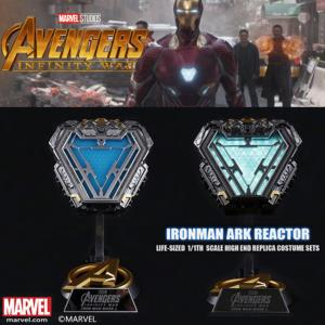 AVENGERS : INFINITY WAR - IRON MAN ARC REACTOR MARK L OFFICIEL AVEC LED + SUPPORT DELUXE (MARVEL ™)