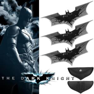 BATMAN, THE DARK KNIGHT - SET 3 BATARANG