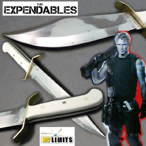 THE EXPENDABLES - POIGNARD BOWIE W49 REPRODUCTION AUTHENTIQUE (MAITRE FORGERON - NO LIMITS)