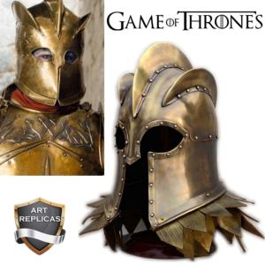GAME OF THRONES - REPRODUCTION CASQUE LANNISTER ET MOUNTAIN ZOMBIE (ART REPLICAS)
