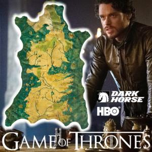 GAME OF THRONES - CARTE WESTEROS OFFICIELLE (HBO - DARK HORSE)