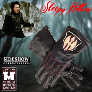 SLEEPY HOLLOW - GANTS HORSEMAN OFFICIELS (TAILLE XL - WINDLASS STUDIOS)