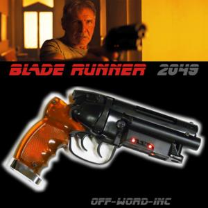 BLADE RUNNER 2049 - BLASTER EDITION LIMITEE (VERSION OFF-WORD-INC™)