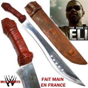 BOOK OF ELI (THE) - KUKRI REPRODUCTION AUTHENTIQUE  (FAIT MAIN EN FRANCE - ARTISAN FORGERON)