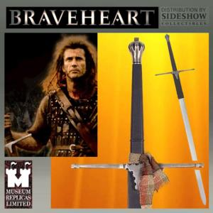 BRAVEHEART -  WILLIAM WALLACE EPEE OFFICIELLE VERSION FORGE MAIN (SIDESHOW - WINDLASS STUDIOS)