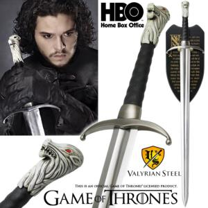 GAME OF THRONES - LONGCLAW, EPEE DE JON SNOW OFFICIELLE LIMITED EDITION