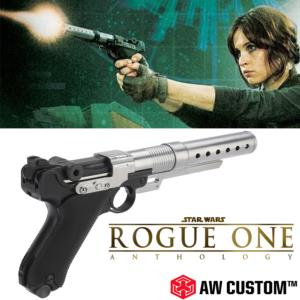 STAR WARS : ROGUE ONE ANTHOLOGY - JYN ERSO BLASTER TOUT METAL LIMITED EDITION (VERSION AIRSOFT)