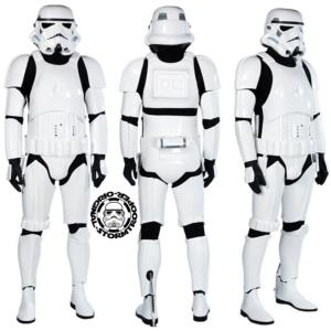 STAR WARS - STORMTROOPER ARMURE COMPLETE OFFICIELLE (ORIGINAL STORMTROOPER - CASQUE & ARMURE)