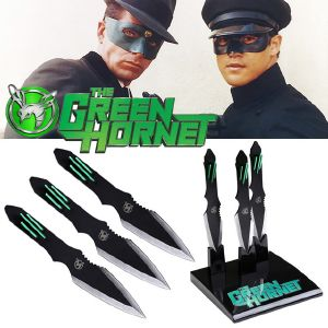 THE GREEN HORNET - KATO'S THROWING KNIVES OFFICIELS & SUPPORT DELUXE