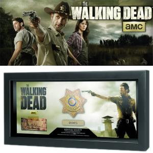 WALKING DEAD (THE) - RICK GRIMES BADGE & ETOILE SHERIFF OFFICIELS