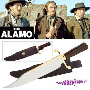 THE ALAMO (2004) - POIGNARD OLD WEST BOWIE OFFICIEL (VERSION GIL HIBBEN)