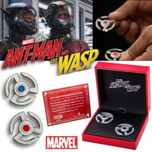 ANT-MAN & THE WASP - LOT 2 PYM PARTICLES DISKS OFFICIELS (PINS MARVEL ™ - SALESONE)