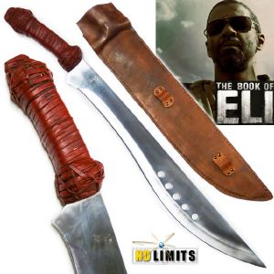 BOOK OF ELI (THE) - KUKRI REPRODUCTION AUTHENTIQUE (PRACTICAL ARTISAN FORGERON - NO LIMITS)