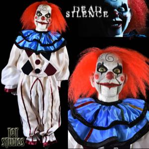 DEAD SILENCE - MARIONNETTE MARY SHAW CLOWN OFFICIELLE TAILLE 1/1 (MARY SHAW PUPPET PROP - TOT STUD)