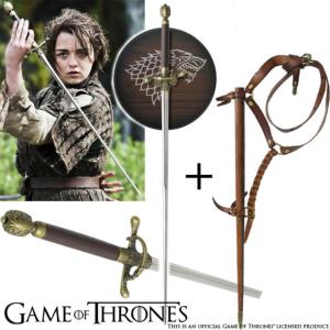 GAME OF THRONES - NEEDLE, EPEE ET FOURREAU DE ARYA STARK OFFICIELS LIMITED EDITION