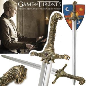 GAME OF THRONES - OATHKEEPER, EPEE DE BRIENNE OFFICIELLE LIMITED EDITION