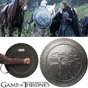 GAME OF THRONES - STARK SHIELD OFFICIEL LIMITED EDITION