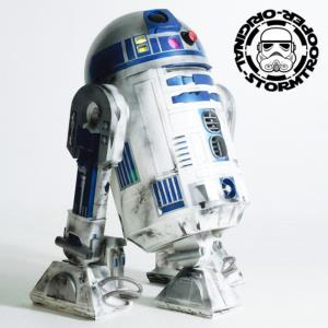 STAR WARS - R2D2 DROID OFFICIEL LIMITED EDITION TAILLE REELLE (ECHELLE 1/1)