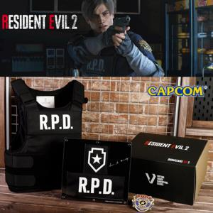 RESIDENT EVIL 2 (BIOHAZARD RE:2 ) - VESTE R.D.P. LEON OFFICIELLE LIMITED EDITION NUMEROTEE (CAPCOM)