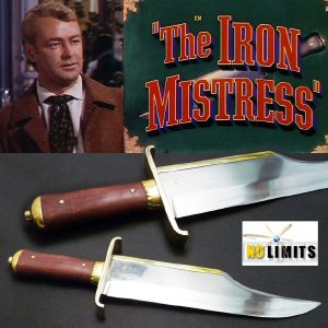 THE IRON MISTRESS - POIGNARD REPRODUCTION AUTHENTIQUE (PRACTICAL MAITRE FORGERON - NO LIMITS)