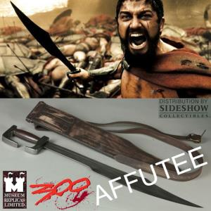 300 - GLAIVE OFFICIEL KING LEONIDAS EXCLUSIF AFFUTE TRANCHANT (PRACTICAL - WINDLASS STUDIO)