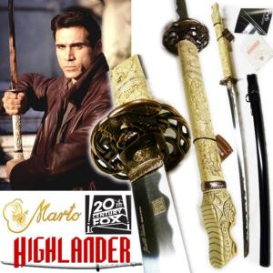 HIGHLANDER (SERIE) - SABRE DUNCAN MAC LEOD OFFICIEL MARTO (IMPORT US 20TH CENTURY FOX)