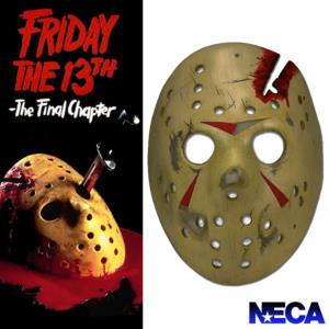 FRIDAY THE 13TH : THE FINAL CHAPTER (VENDREDI 13) - MASQUE DE JASON OFFICIEL (VERSION RESINE NECA)