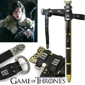 GAME OF THRONES - LONGCLAW, FOURREAU ET CEINTURE DE JON SNOW OFFICIELS LIMITED EDITION