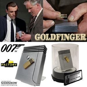 JAMES BOND : GOLDFINGER - SET TRACKING DEVICES LIMITED EDITION PROP REPLICA