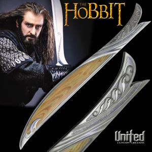 "THE HOBBIT - FOURREAU EPEE ""ORCRIST"" DE THORIN OAKENSHIELD OFFICIEL (UNITED CUTLERY)"
