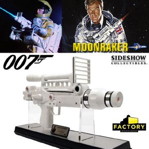 JAMES BOND : MOONRAKER - LASER RIFLE LIMITED EDITION PROP REPLICA