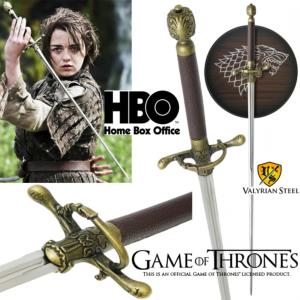 GAME OF THRONES - NEEDLE, EPEE DE ARYA STARK OFFICIELLE LIMITED EDITION
