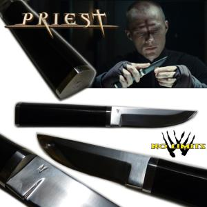 PRIEST - COUTEAU REPRODUCTION AUTHENTIQUE (PRACTICAL MAITRE FORGERON - NO LIMITS)