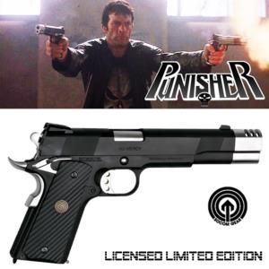THE PUNISHER - PISTOLET AVEC COMPENSATEUR OFFICIEL LICENSED EDITION MOVIE PROP + MALLETTE