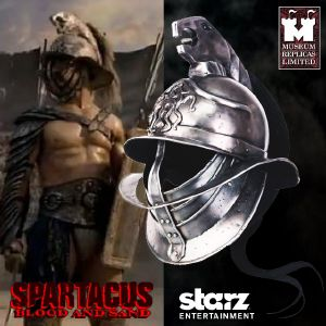 SPARTACUS : BLOOD & SAND - CASQUE SPARTACUS OFFICIEL (STARZ ENTERTAINMENT LLC - WINDLASS STUDIOS)
