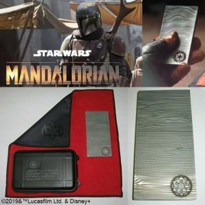 STAR WARS (SERIE) : THE MANDALORIAN - BESKAR STEEL OFFICIEL LIMITED EDITION