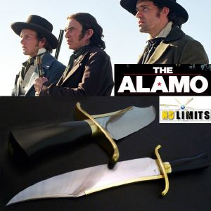 THE ALAMO (2004) - POIGNARD REPRODUCTION AUTHENTIQUE (PRACTICAL MAITRE FORGERON - NO LIMITS)
