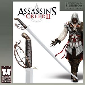 ASSASSIN'S CREED II - EPEE EZIO OFFICIELLE (SIDESHOW - WINDLASS STUDIOS)